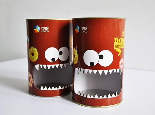 创意食品纸罐包装