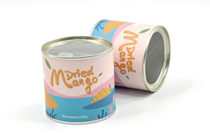 网红炒饭使用的易拉罐包装是纸质的吗?