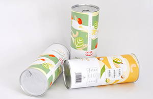 食品纸罐包装都有哪几种结构样式?