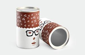 为您介绍几种常见的食品纸罐包装