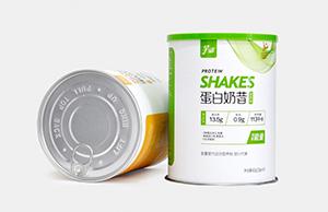 蛋白粉可以使用圆筒纸罐包装吗?