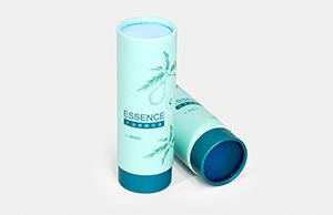 护肤品可以使用圆筒纸罐包装吗?