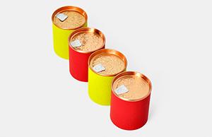 茶叶圆筒包装,圆筒纸罐放大招