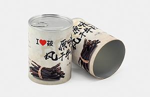 圆筒复合纸罐适用于哪些产品?