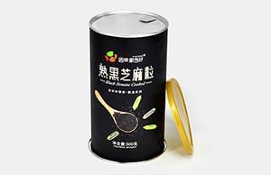 简述食品包装定做圆筒纸罐的好处