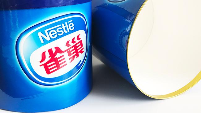 雀巢7升冰淇淋纸罐