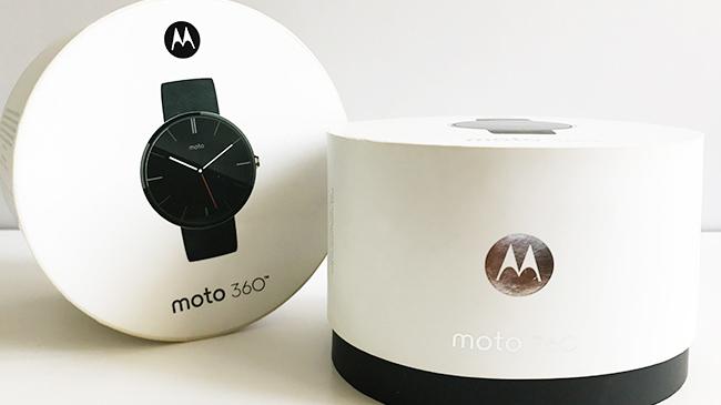 摩托罗拉360手表纸罐