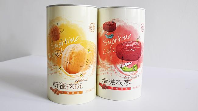中粮时怡系列干果纸罐