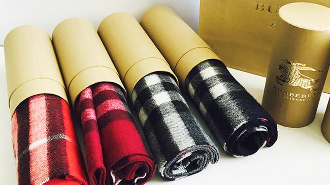 羊绒围巾包装纸罐