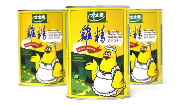 太太乐鸡精纸罐