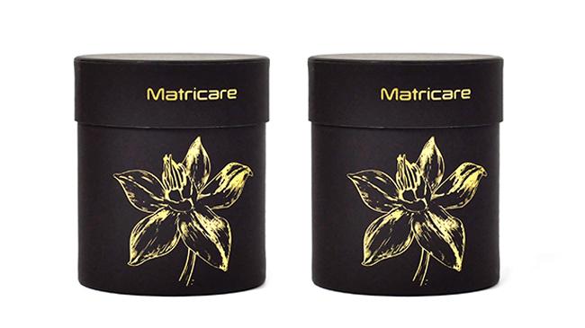 Matricare化妆品纸罐