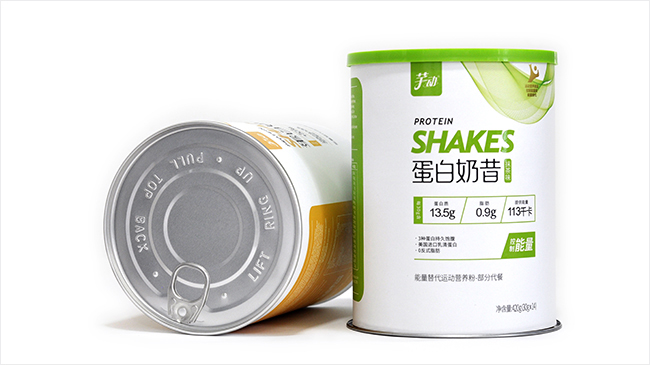 芊动奶昔纸罐