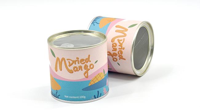 芒果干纸罐
