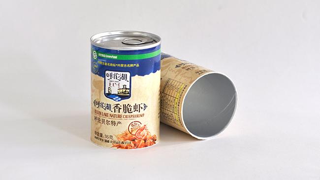 香脆虾纸罐