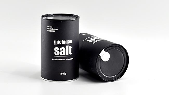 食用盐纸罐