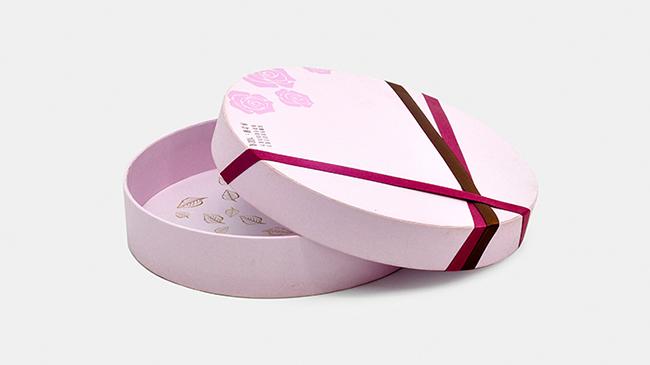 巧克力圆筒礼盒包装